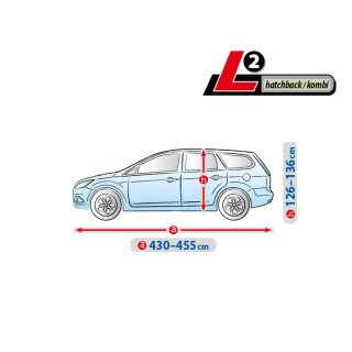 FORD Focus III - Bj.ab 2010 | Autoplane BASIC Line L2 Autoabdeckung