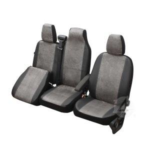 Sitzbezüge Schonbezüge SET AUU Nissan Primastar Stoff schwarz